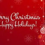 Happy Holidays! See you back in class on Tuesday, January 6, 2015