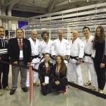 Team Poco at the Canadian National Judo Tourament